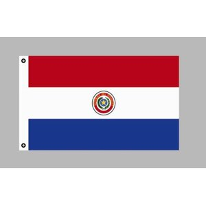 Flagge 90 x 150 : Paraguay
