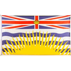 Flagge 90 x 150 : British Columbia