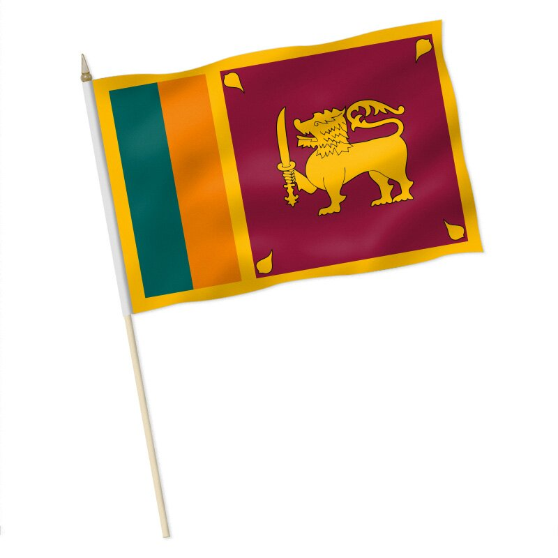 Fahnenkette Sri Lanka 6 m Fahne Flagge Flaggenkette