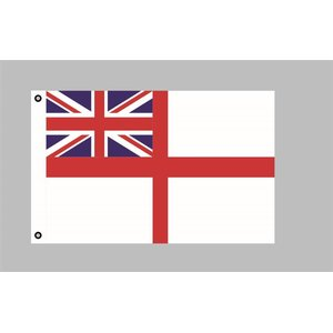 Flagge 90 x 150 : GB White Ensign