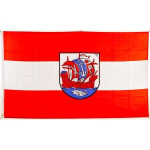 BRAUNSCHWEIG BULLDOGGE You`ll never walk alon Braunschweiger Fahne Flagge 90x150