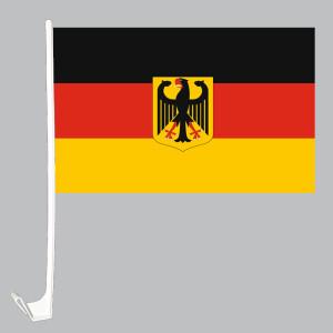 Fahnen Flagge Halter für Autoscheibe 10 x  Für Stockflagge