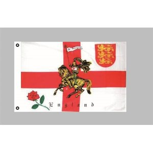 Flagge 90 x 150 : England (GB) mit Ritter