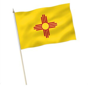Stock-Flagge : New Mexico / Premiumqualität