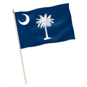 Stock-Flagge : South Carolina / Premiumqualität