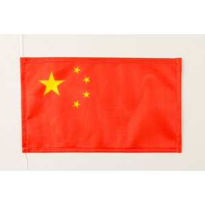 Tischflagge 15x25 : China