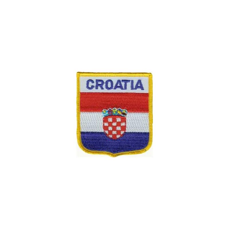 patch zum aufb geln oder aufn hen kroatien wappen 2 50. Black Bedroom Furniture Sets. Home Design Ideas