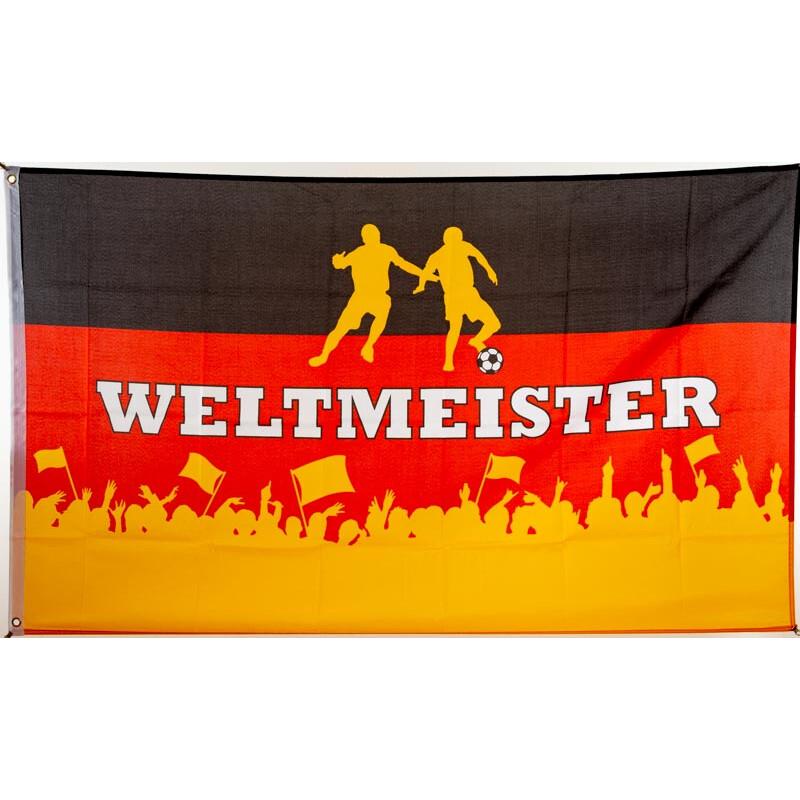 Fußball Flagge Deutschland Fahne 90x150 cm WM EM Fanartikel Weltmeisterschaft