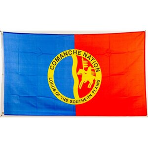 Flagge 90 x 150 : Indianer Comanche Nation
