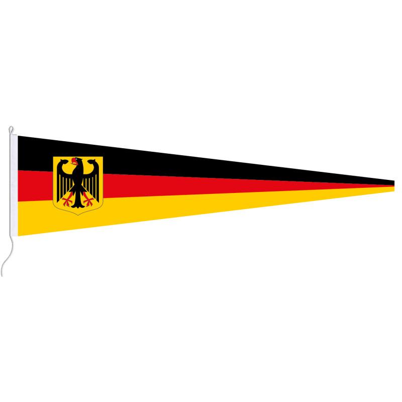 langwimpel deutschland mit adler 19 95. Black Bedroom Furniture Sets. Home Design Ideas