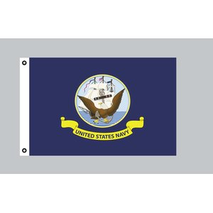 Flagge 90 x 150 : USA - United States Navy