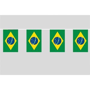 Party-Flaggenkette : Brasilien
