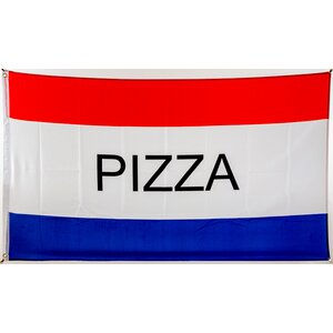 Flagge 90 x 150 : Pizza
