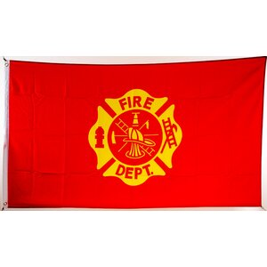 Flagge 90 x 150 : Fire Department