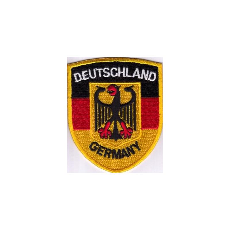 patch zum aufn hen deutschland germany schwarz rot gold mit adler 2 50. Black Bedroom Furniture Sets. Home Design Ideas