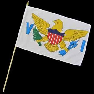 Stock-Flagge 30 x 45 : US Virgin Islands