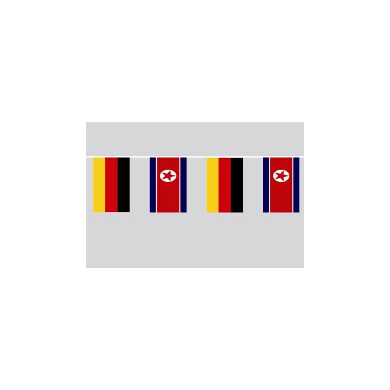 Fahnenkette Flagge Fahne Namibia Flaggenkette 6 m 8 Flaggen 30 x 45 cm