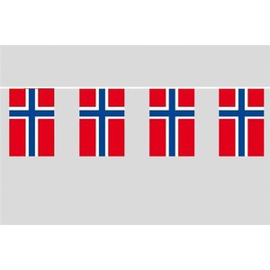 Party-Flaggenkette : Norwegen