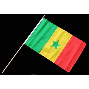 Stock-Flagge 30 x 45 : Senegal