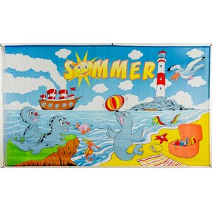 Flagge 90 x 150 : Sommer