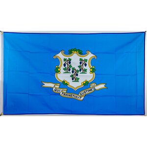 Flagge 90 x 150 : Connecticut