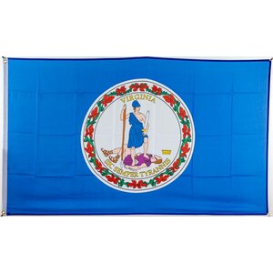 Flagge 90 x 150 : Virginia