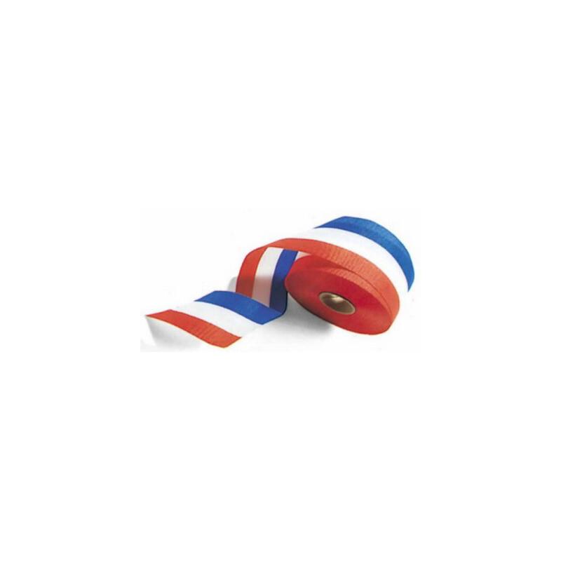 Stoffband: Blau-Weiß-Rot 25-m-Rolle, 14,95