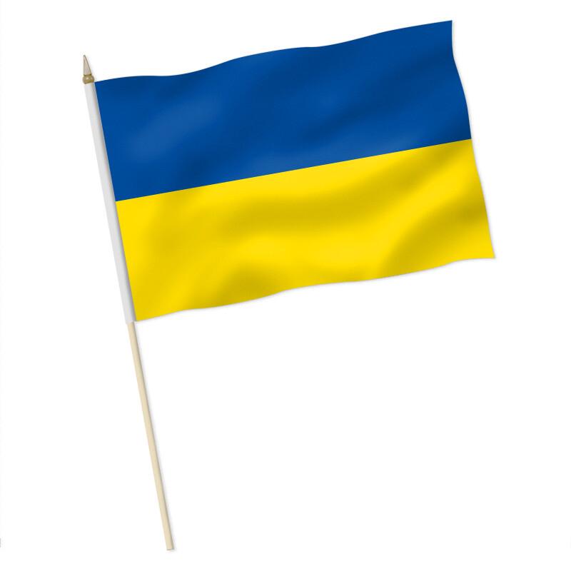 Flagge Weiß Blau Gelb