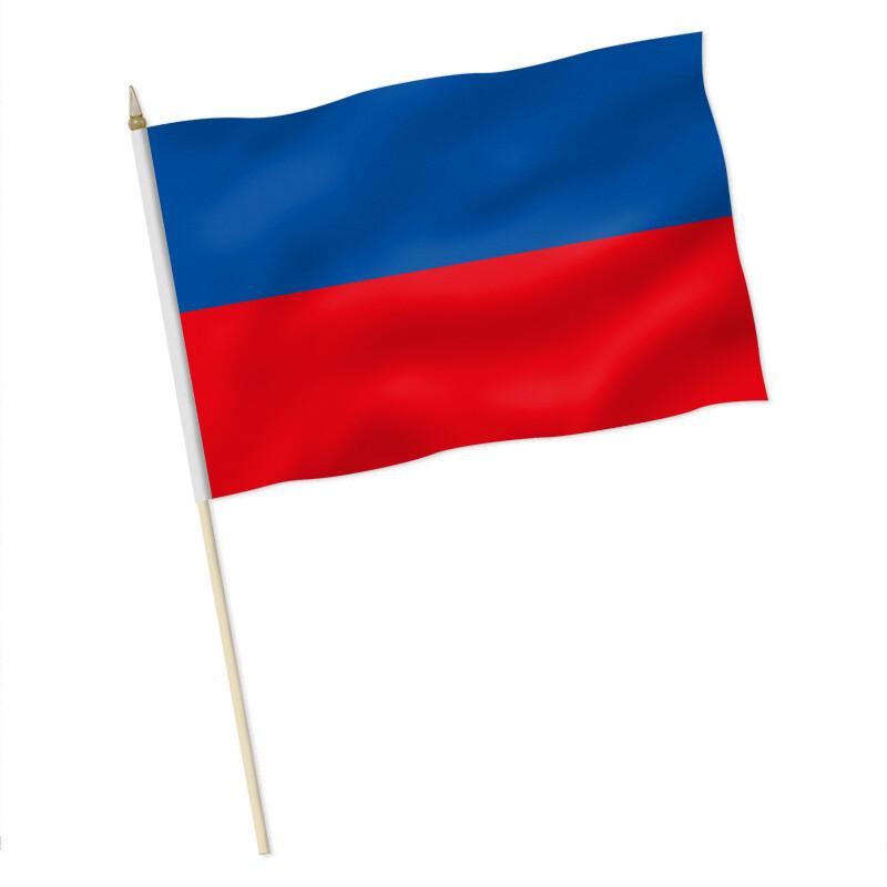 Stock-Flagge : Blau-Rot / Premiumqualität, 9,95