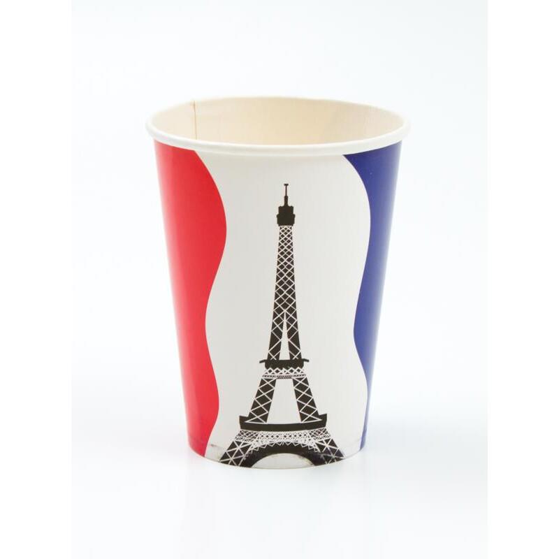 Frankreich mit eiffelturm becher 2 99 for Frankreich dekoration