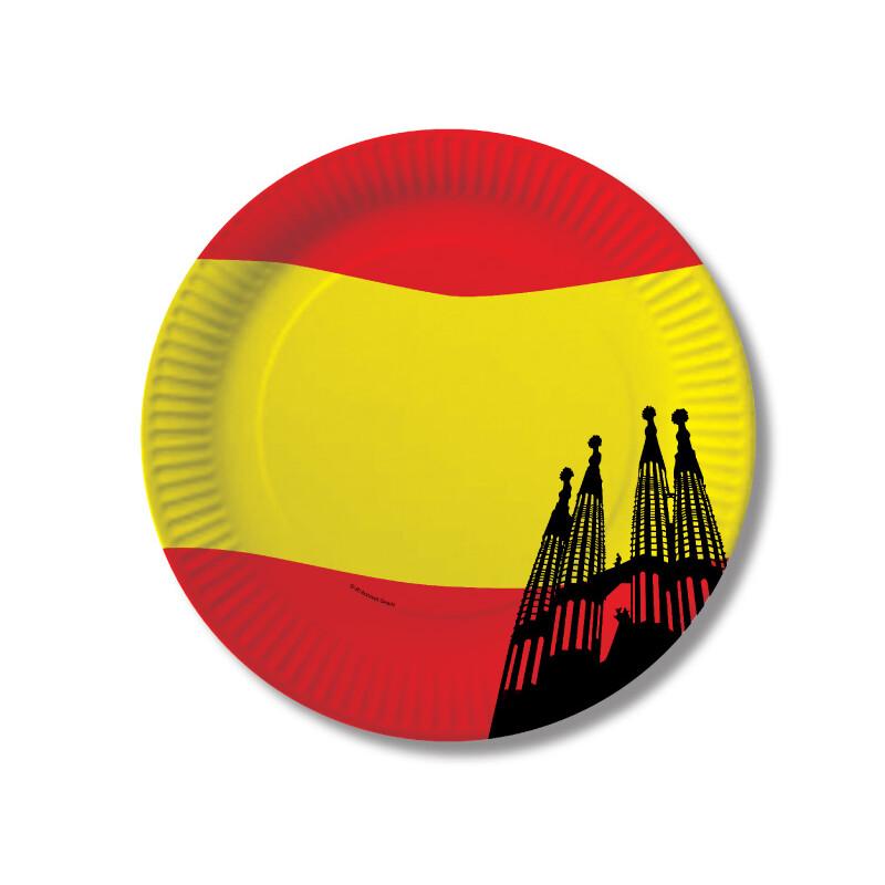 Spanien mit sagrada familia teller 2 99 for Dekoration spanien