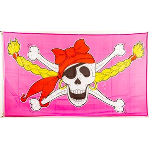 Flagge 90 x 150 : Piratenprinzessin