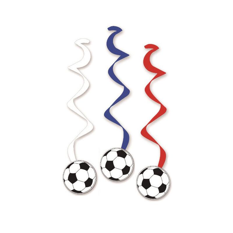 Fußballwirbler In Blau