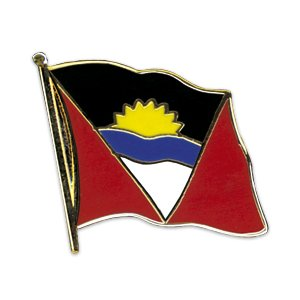 Flaggen-Pin vergoldet : Antigua & Barbuda