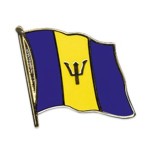 Flaggen-Pin vergoldet : Barbados