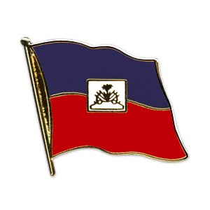 Flaggen-Pin vergoldet : Haiti