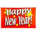 Flagge 90 x 150 : Happy New Year