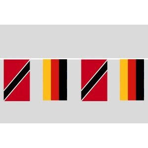 Party-Flaggenkette : Deutschland - Trinidad&Tobago