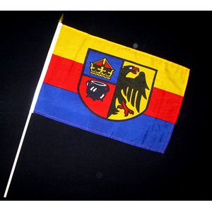 Stock-Flagge 30 x 45 : Nordfriesland