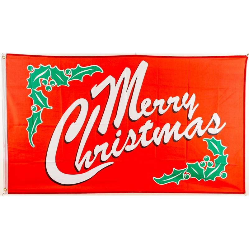 Fahne Flagge Merry Christmas NEU 90 x 150 cm Flaggen