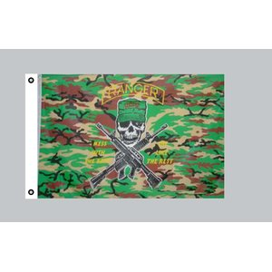 Flagge 90 x 150 : USA - Camouflage Ranger