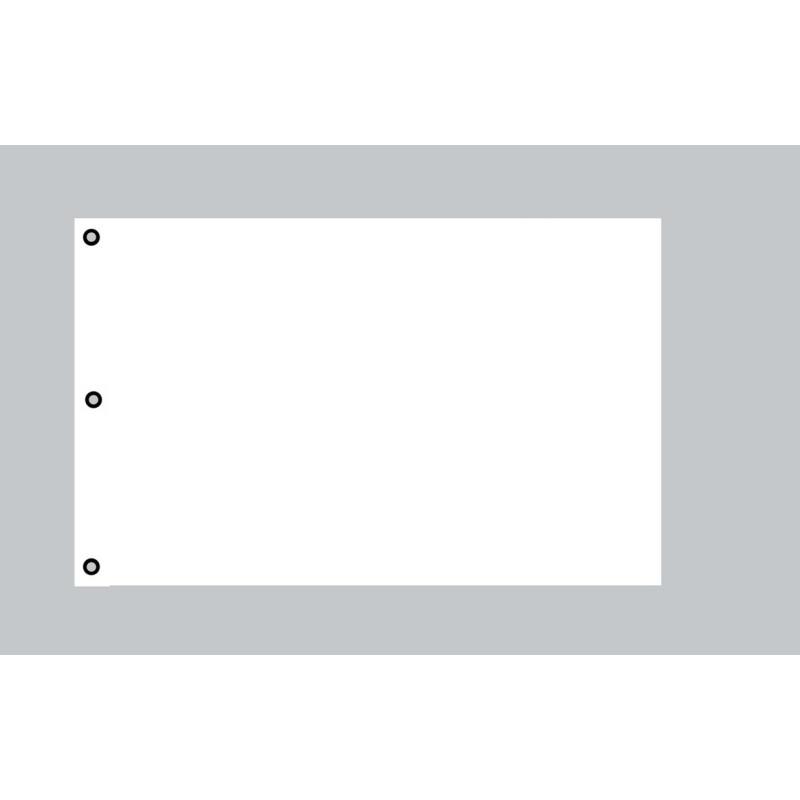 riesen flagge wei 150cm x 250cm ideal zum selber gestalten 19 95. Black Bedroom Furniture Sets. Home Design Ideas
