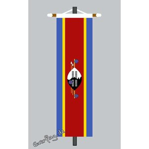 Banner Fahne Swasiland