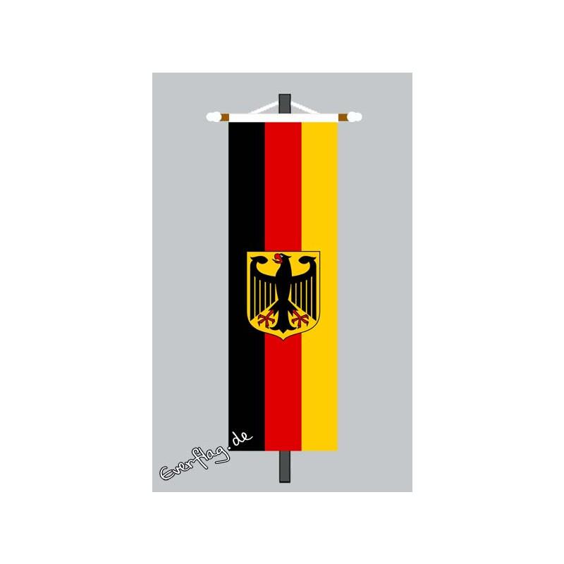 banner fahne deutschland mit adler 79 00. Black Bedroom Furniture Sets. Home Design Ideas