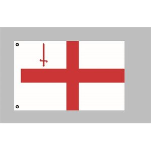Flagge 90 x 150 : London (GB)