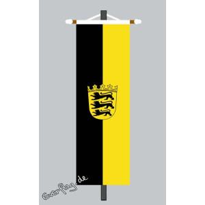 Banner Fahne Baden Wurttemberg Mit Wappen 79 00