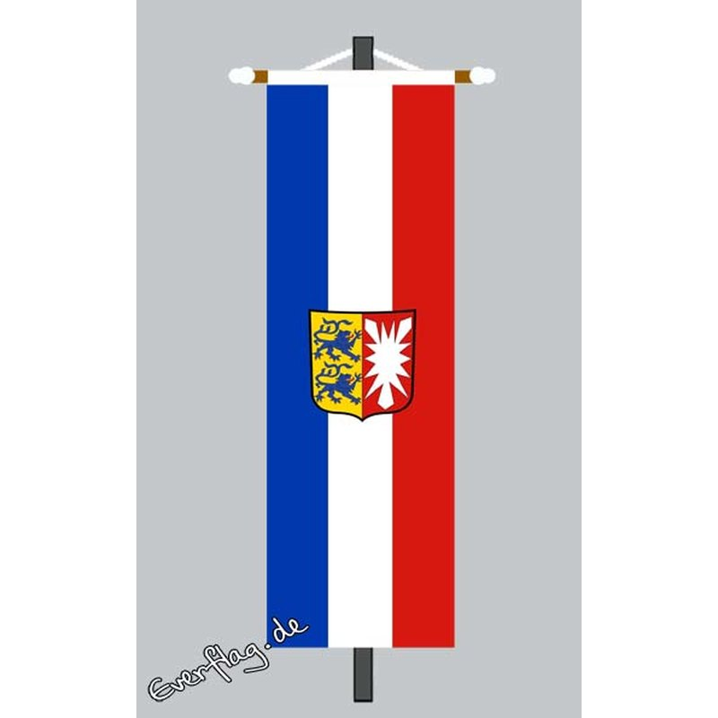 Banner Fahne Schleswig Holstein Mit Wappen 79 00